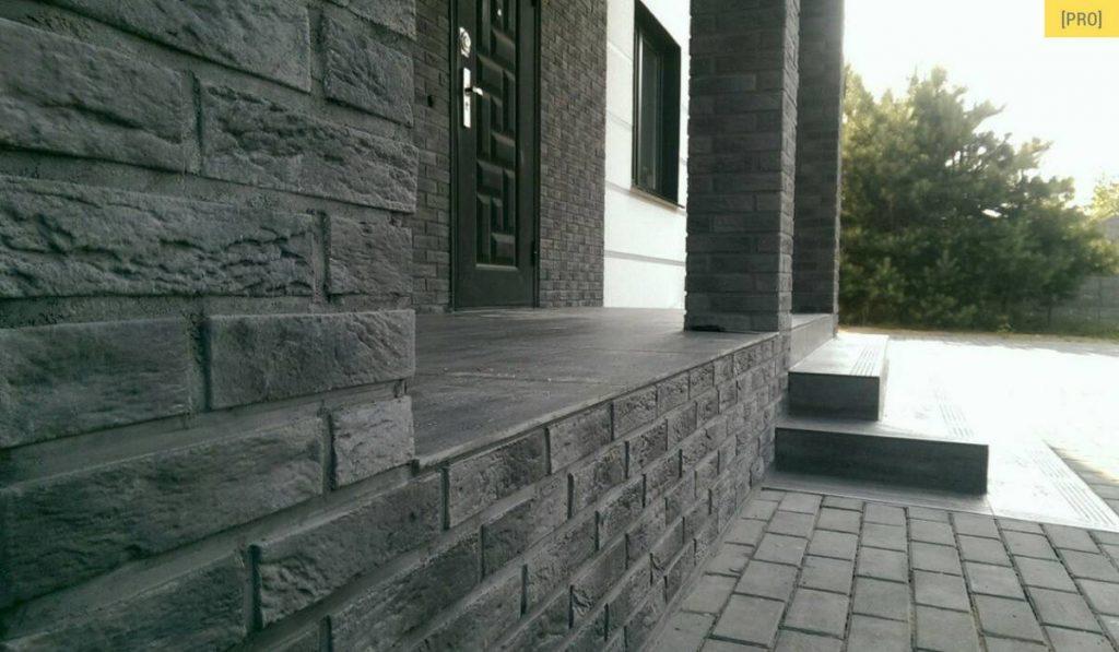 Объект KD-2: декорирование и облицовка фасада