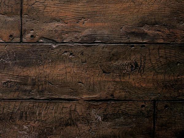 имитация дерева на фасаде пример