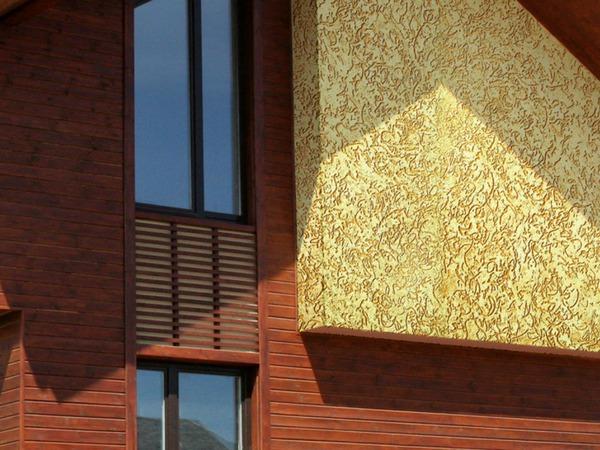короед на фасаде дома фото