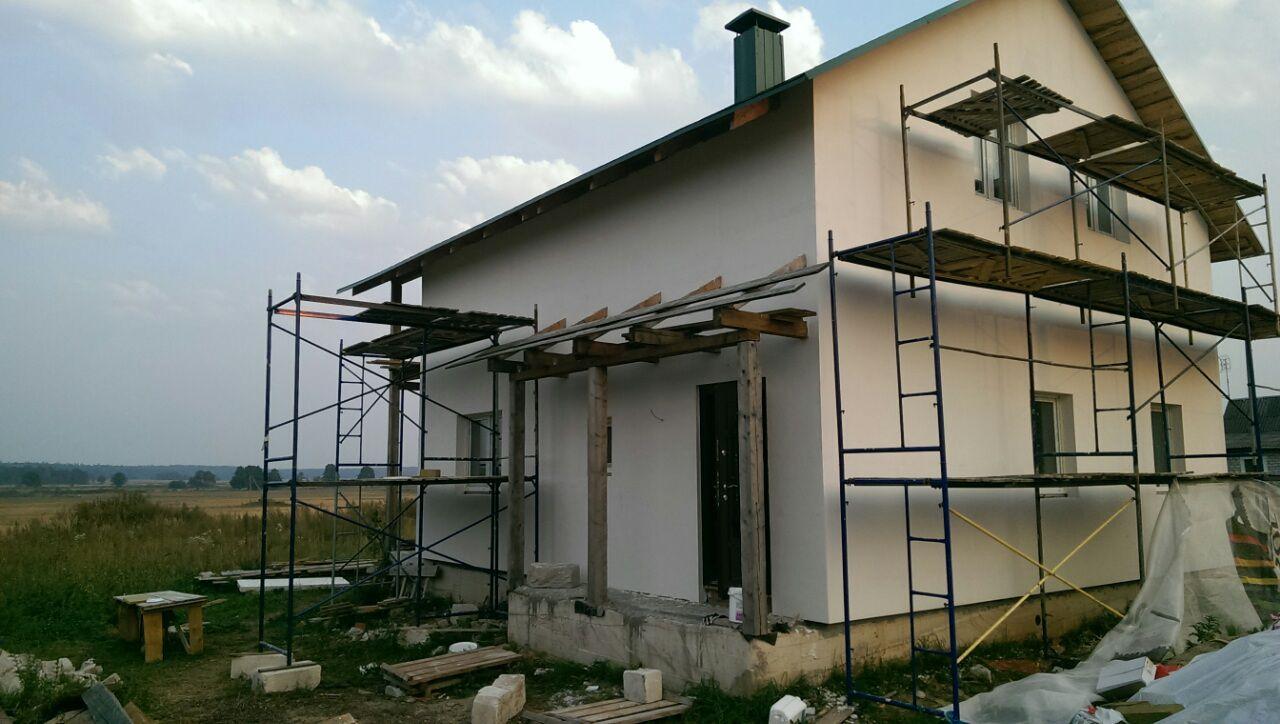 Армирование фасада, объект pro 283