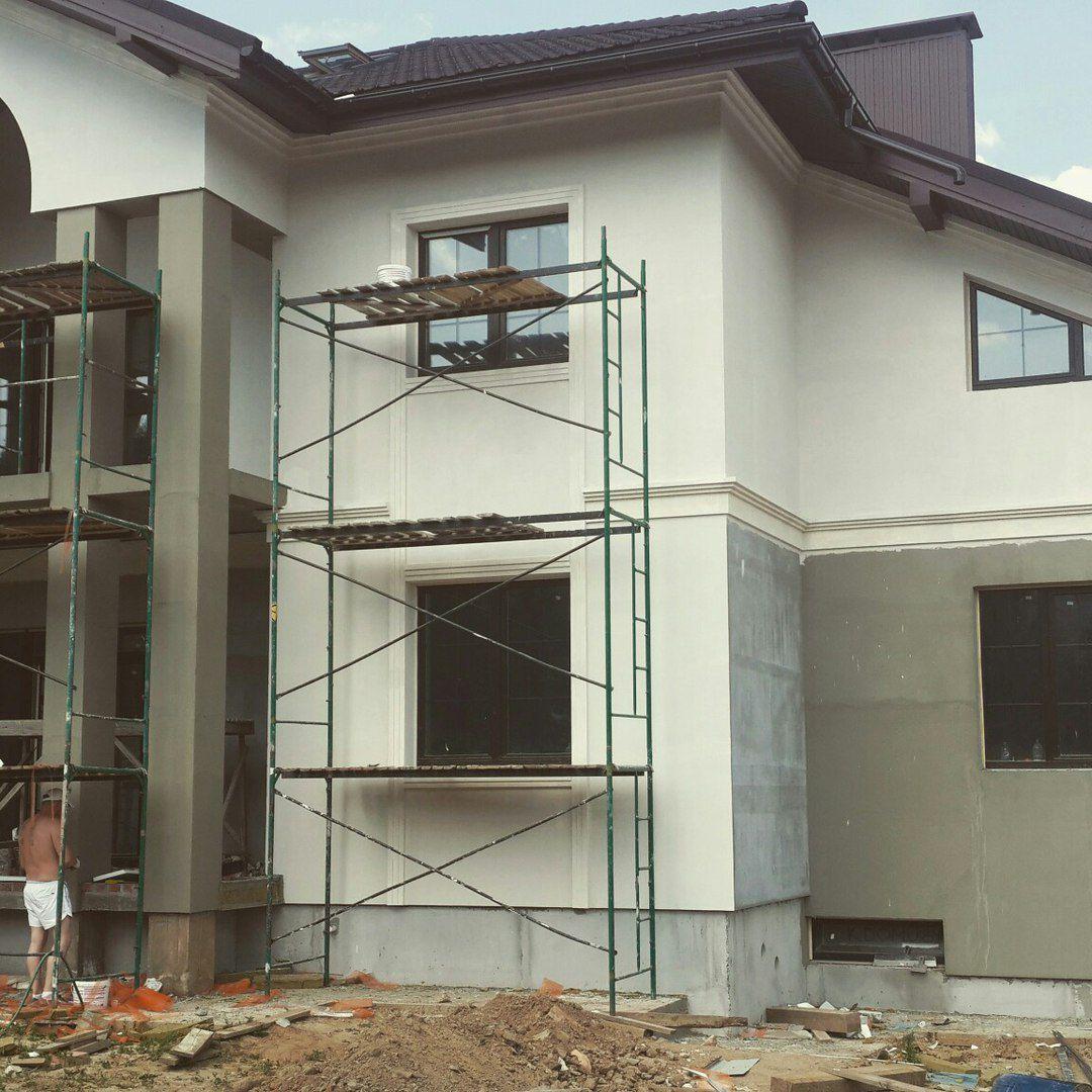 Объект PRO-489, фасадные работы