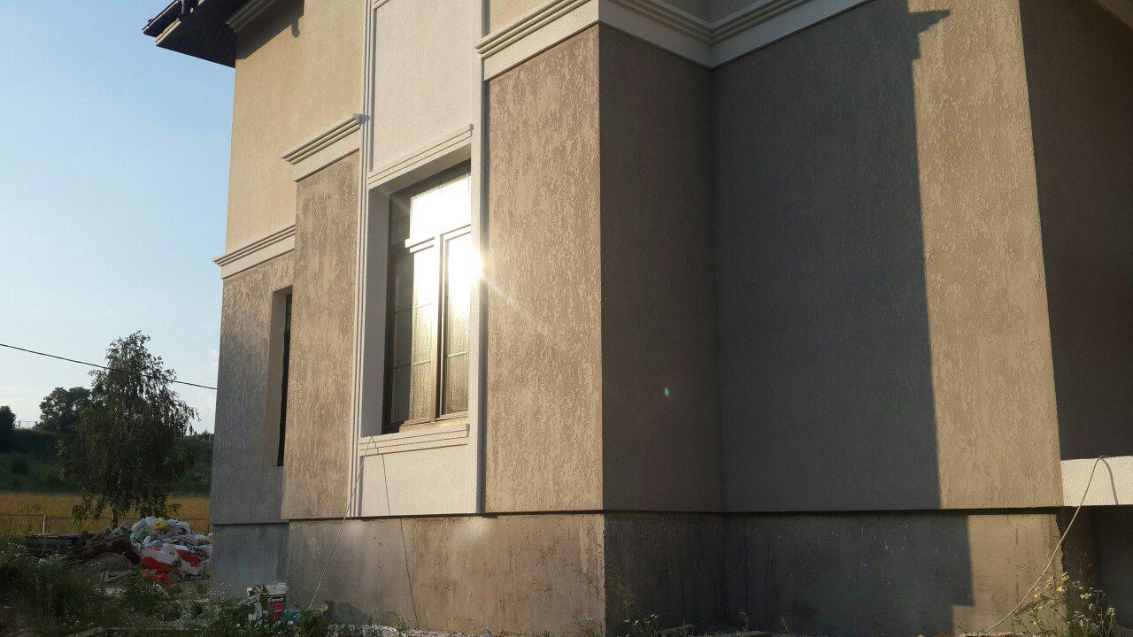 Декоративные штукатурка для фасадов церезит
